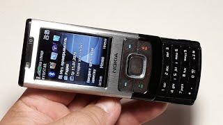Nokia 6500 slider. Telefon aus Deutschland. Капсула времени от T-Mobile  2008 год. Ретро телефон