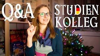 Q&A Studienkolleg!!! 10 САМЫX ПОПУЛЯРНЫX ВОПРОСОВ о STUDIENKOLLEG!