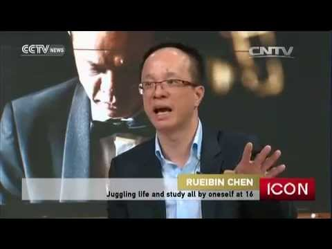 Rueibin Chen 陳瑞斌 English Interview by CCTV News