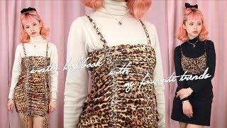 How To Wear Leopard Print 🐆❤️ Winter Lookbook Ft. My Favorite Trends