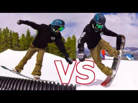 Rocker vs Camber Snowboard Test – Arbor Westmark