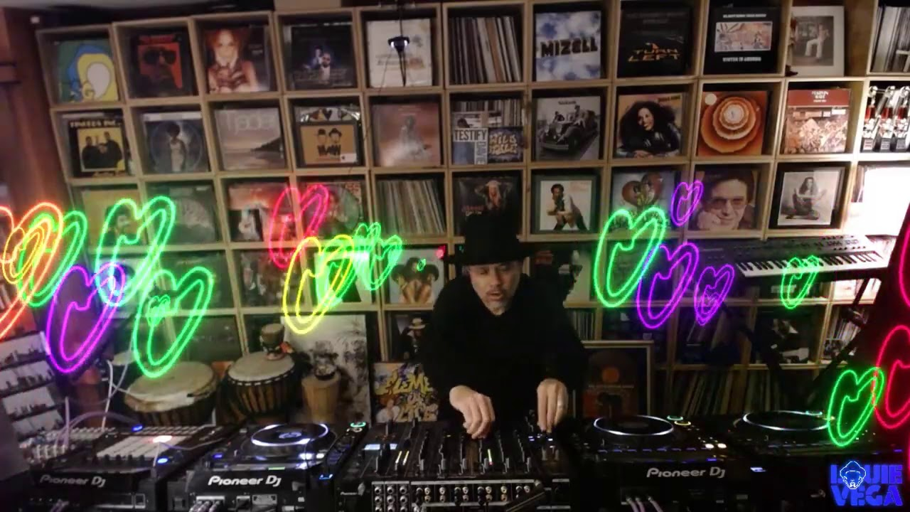 Louie Vega - Live @ Glitterbox Love Stream x We Dance as One 2020