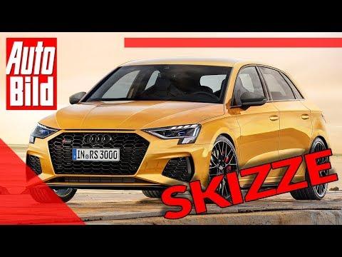 Audi RS 3 (2020): Neuvorstellung - Skizze - Infos