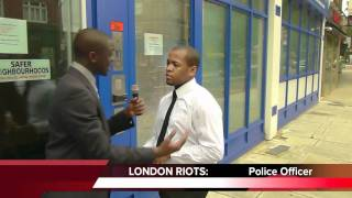 THE UNIT - London Riots [Music Video] (UK Riots 2011)