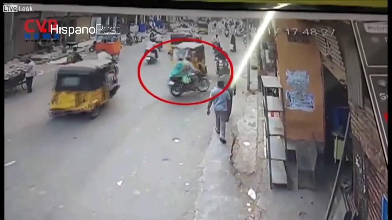 Perdió la cabeza luego que su esposa sufriera extraño accidente