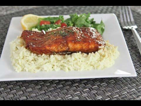 The BEST Baked Salmon Recipe (Honey Teriyaki)