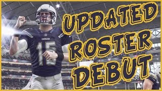 UPDATED ROSTER DEBUT!! - Madden 16 Ultimate Team | MUT 16 XB1 Gameplay