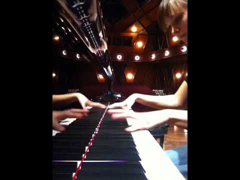"""""""Polka"""" from """"The Golden Age""""  by Dmirti Shostakovich  PepsiCo Recital Hall practice, Fall 2013"""