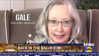 Good Morning America covers Don Lewis family ad regarding Carole Baskin on Dancing with the Stars