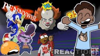 Pennywise Vs. Groot- Cartoon Beatbox Battles [REACTION]
