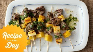 How To Make Giadas Pineapple Beef Pops   Food Network