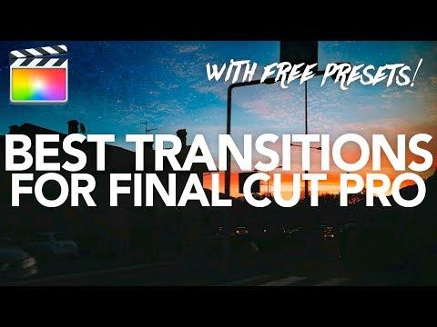 10 FREE SMOOTH TRANSITIONS - Final Cut Pro X - смотреть