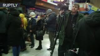 Крушение Ан-148: видео из аэропорта Орска