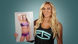 Charlotte recreates her embarrassing first WWE photo: WWE Then & Now