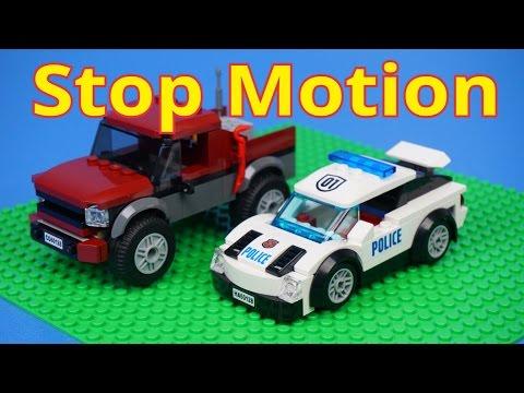 Vidéo LEGO City 60128 : La course poursuite