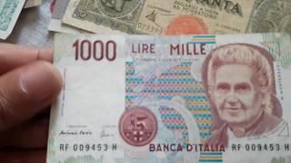 Unboxing Foreign Paper Money: Italian Lire, Peruvian Intis, Philippine Piso, etc.