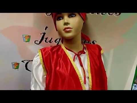 Disfraz de zíngaro infantil
