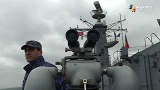 """Fregata """"REGINA MARIA"""" face o escală în portul Poti, Georgia."""