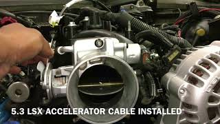 5.3 LS SWAP - PART 21 ACCELERATOR CABLE, OBD2 WIRING & A FEW EXTRAS 1978 CAPRICE CLASSIC LSX LM7