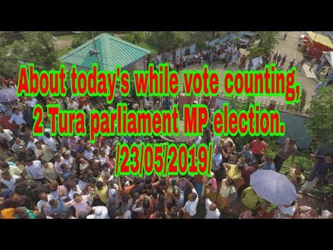 Tra Agatha Sangma cheaha||About today's while MP elections vote counting /23/05/19/ (видео)