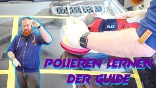 Polieren lernen mit Poliermaschine // DER GUIDE // Rotationsmaschine und Hartes PAD