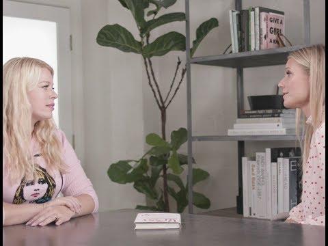 Gwyneth Paltrow Interviews Amanda De Cadenet