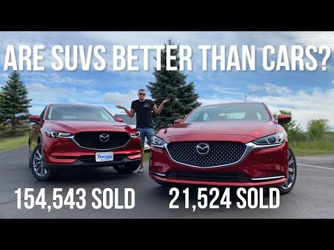 Mazda6 vs Mazda CX-5 - Is The SUV Better Than The Car?