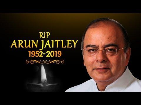 Former FM and BJP stalwart Arun Jaitley passes away