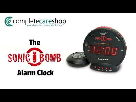 Never Oversleep Again With The Sonic Bomb Extra Loud Alarm Clock