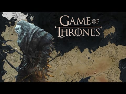 Entire Game Of Thrones Mapworld Detailed