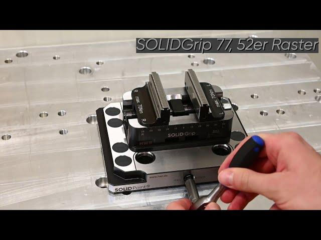 Vorschaubild SOLIDPoint® kombinierte Nullpunktplatte 96/52