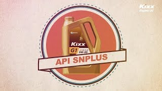 [Моторное масло Kixx] SN Plus