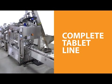 PPS SuperCount 18-3 with Complete Tablet Line PPS SuperCount 18-3 Tablet Counter