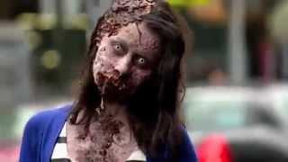 реакция людей на зомби