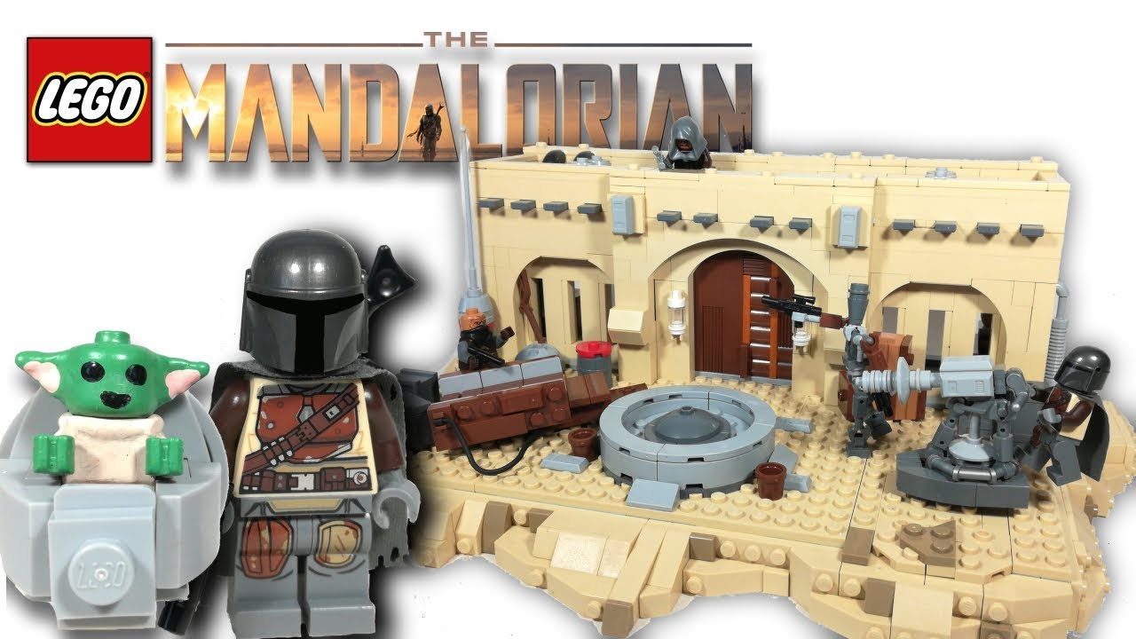 LEGO The Mandalorian! Star Wars MOC! MANDO Finds BABY YODA!