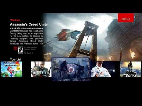 Stream LaunchBox / Big Box To The Nvidia Shield TV