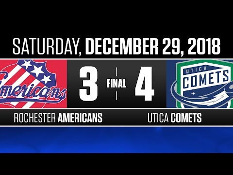 Americans vs. Comets | Dec. 29, 2018