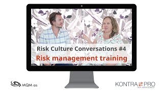 Risk Culture Conversation #4 – Risk management training