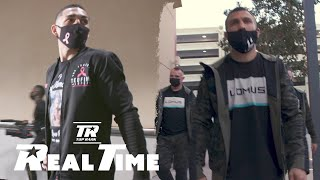 Loma and Lopez Arrive for Main Event Fight on ESPN | Real Time Ep. 6