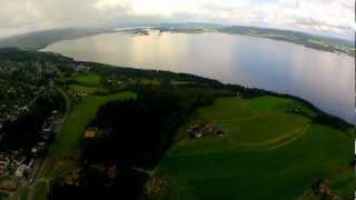 My first high altitude flight with FPV equipment.