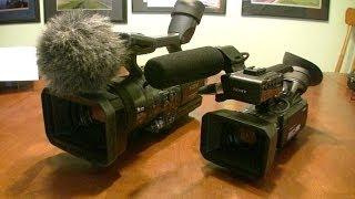 Video Camera Comparison - Sony NX70 vs. Sony FX1