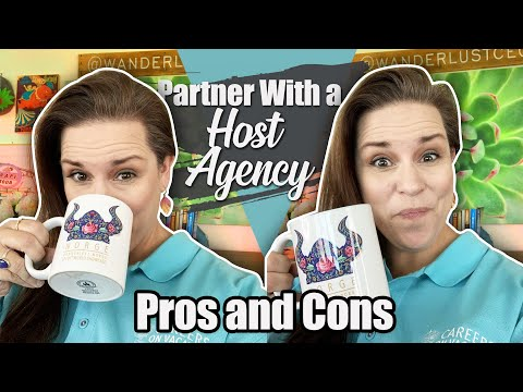 , title : 'Pros And Cons of Working With A Host Travel Agency