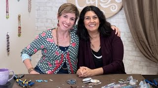 Artbeads Cafe - Making Memory Wire Bracelets with Cynthia Kimura and Candie Cooper