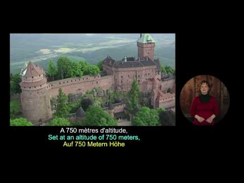 The château du Haut-Koenigsbourg, the first chapter of its story