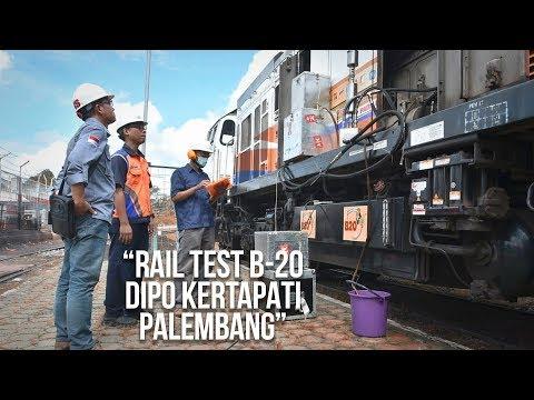 Rail Test B-20 Pada Kereta Api Tuai Hasil Positif