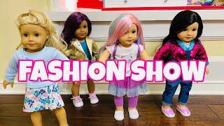 American Girl Doll Fashion Show