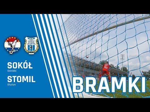 Bramki z meczu Sokół Ostróda - Stomil Olsztyn 0:4