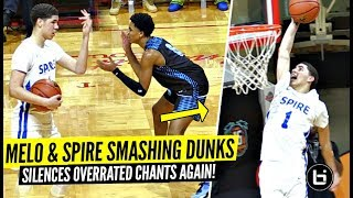 """LaMelo Ball CLOWNIN' & TOYING w/ Defenders After Crowd Chants """"OVERRATED""""!!"""
