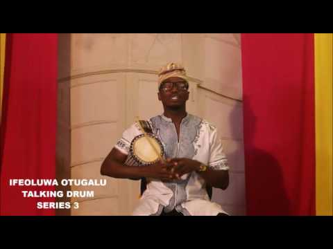 How to Create basic sollos on the Talking drum. Lesson 3