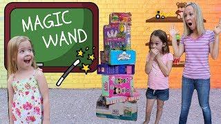 Maya's Magic Wand at FAKE Toy School !!!